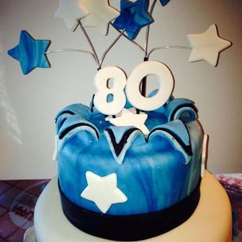 80th cake2